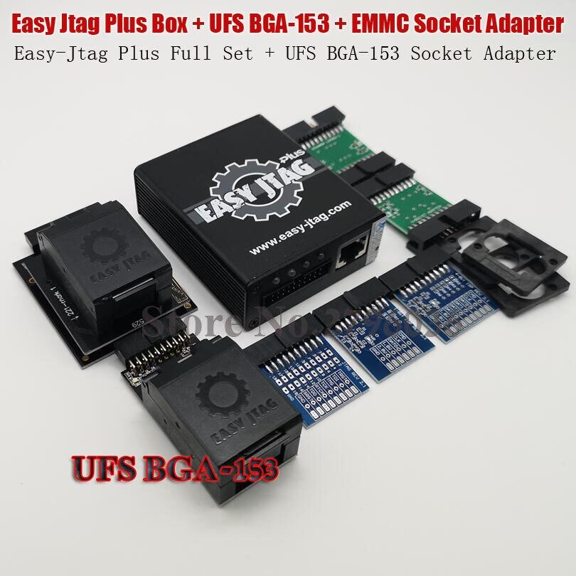 2019 original facile Jtag Plus EMMC prise + Easy-Jtag Plus UFS BGA-153 adaptateur de prise