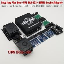 2020 оригинальный легкий разъем Jtag Plus EMMC + Easy Jtag Plus UFS, адаптер для розетки с разъемом для BGA 153