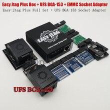 2020 Nguyên Bản Dễ Dàng JTAG Plus EMMC Ổ Cắm + Dễ Dàng Jtag Plus UFS BGA 153 Ổ Cắm Adapter