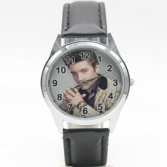 Free Shipping new fashion Elvis Presley Watches Children Kids Boys gift Watch Ca