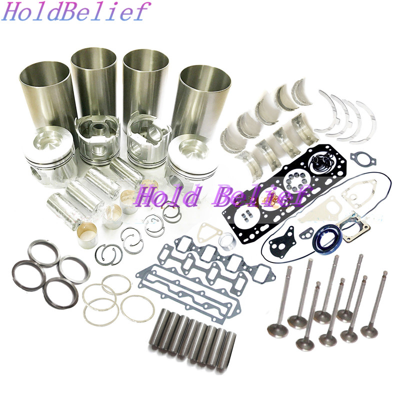 4TNE98 Overhaul Rebuild Kit For Yanmar Engine VIO70 2 VIO75 B7 3 Excavator Parts