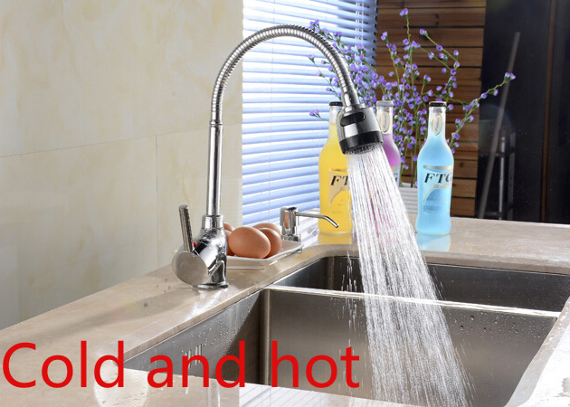 Single Lever Kitchen Faucet Torneira Cozinha Tap Hot And Cold Mixer Sink In Tool Sets From Tools On Aliexpress