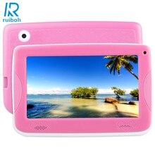 Astar Дети Образование Tablet PC, 7.0 дюймов Android 4.4 8 ГБ Allwinner A33 Bluetooth Wi-Fi Quad Core, с Силиконовый Чехол (Розовый)