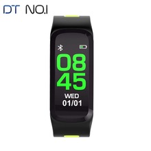 DTNO I F4 Color Smart WristBands IP68 Remote Camera bracelet Bluetooth 4 0 Heart Rate Blood