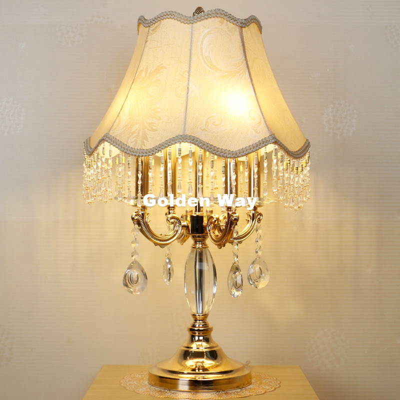 Modern Crystal Table Lamp For Bedroom Luxury Crystal Table Lamp Modern Bedside Lamp K9 Luxury Crystal Decoration Table/Desk Lamp k9 crystal floor lamps stand lamp luxury modern minimalist living room crystal lamp bedside bedroom floor lamps crystal lights