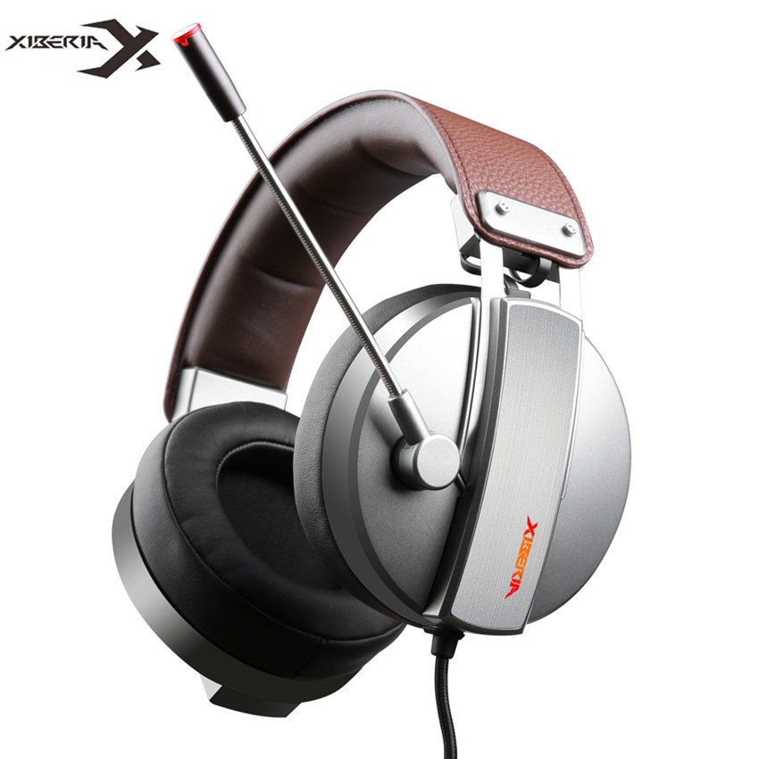 Xiberia S22 PRO PC Gamer Headset Gaming Headphones with Microphone for Computer USB 7.1 Surround Sound Game Headset Bass Casque xiberia k5 best gaming headphones with microphone usb 7 1 sound 3 5mm heavy bass game headset for pc gamer ps4 xbox one phone