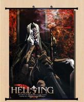 Home Decor Japanese Anime Wall poster Scroll Hellsing RUINS Cosplay 15