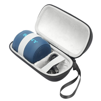 Sert Seyahat Çantası Sony SRS-XB12 XB10 Taşınabilir Kablosuz Bluetooth Hoparlör Ve Şarj Çantası Saklama Çantası Koruyucu Çanta Kutusu