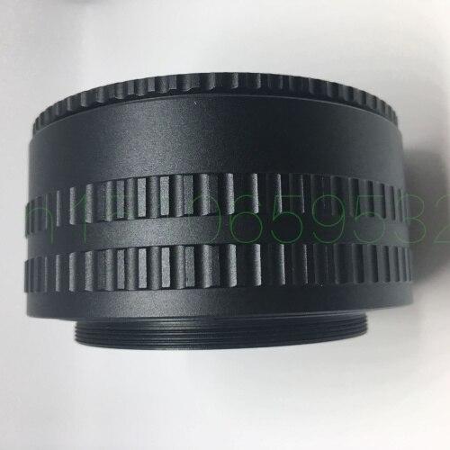 Avec numéro de suivi M58-M58 36-90 M58 à M58 adaptateur de bague hélicoïdale de mise au point 36-90mm Tube d'extension Macro