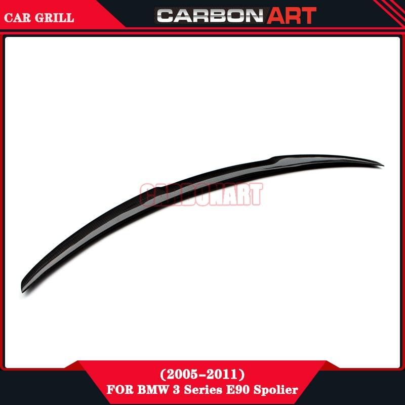 E90 E91 M4 design carbon fiber car rear wing spoiler for bmw 3 series SedanE90 Touring