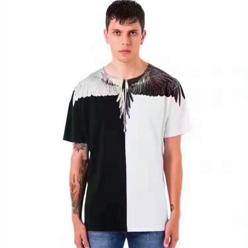new products 43c9b 96dbb 2017 Nuovo Marcelo Burlon T Shirt Scopo Tour Marchio di ...