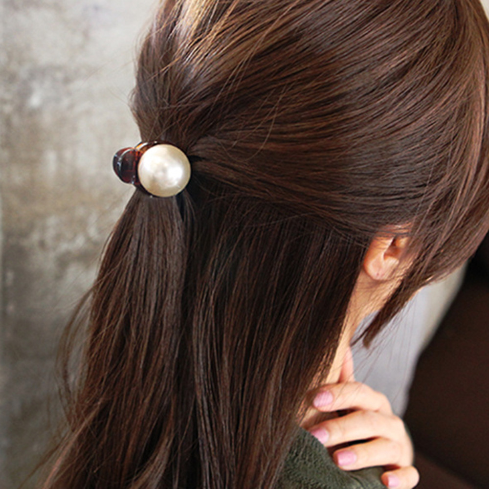 2019 New Fashion Simple Style 1 Pcs Women Girls Pearl And Rhinestone Decorated Hair Clip Pin Claw Hair Accessories Styling Tools Special Buy Women's Hair Accessories