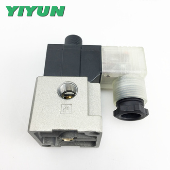YIYUN 3 Port Solenoid Valve Direct Operated Poppet Type VT317V-5G-02 VT317V-4G-02 VT317V-3G-02 VT317V-6G-02 VT317V-5D-02 фото