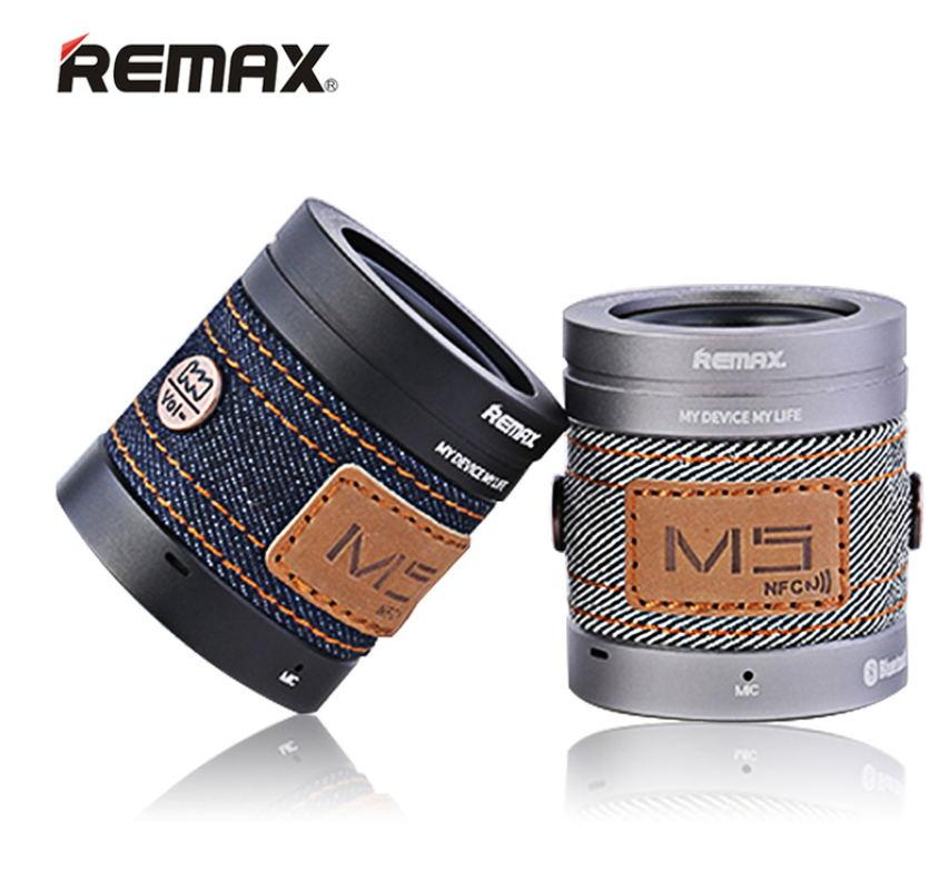 REMAX ковбой Стиль музыка rm-<font><b>m5</b></font> Bluetooth Динамик Smart Портативный Bluetooth Динамик с NFC Функция для телефонов iPhone Android