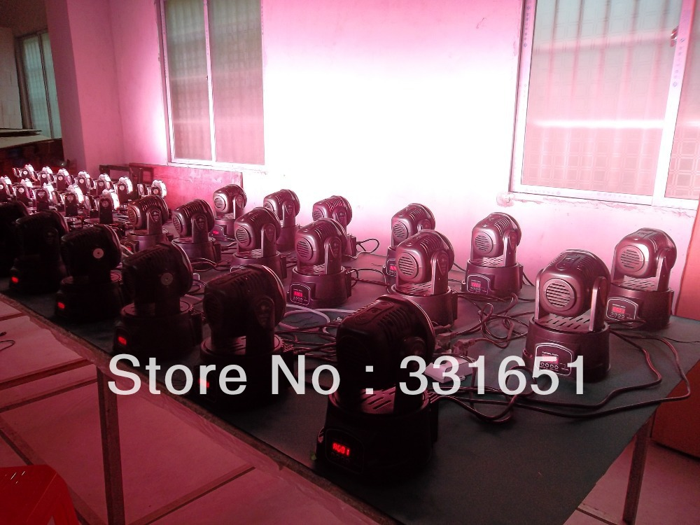 10pcs/lot Lot High Quality DMX moving head light advanced programs 7/12 channels 7x12w mini  wash led 10pcs lot high quality 7 85 for ipad