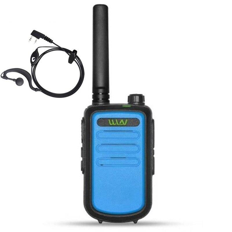 100% D'origine RFD KD-C10 uhf 400-470 mhz 16 Canal mini two way radio FMR PMR talkie walkie KDC10