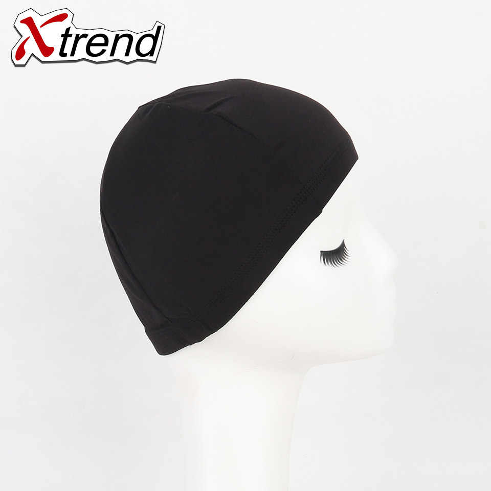 4 шт./лот черный спандекс DomeWigCaps EasierSewInHair Регулируемый Невидимый glueless нейлон стрейч сетки для волос одежда высшего качества xtrendbeaty