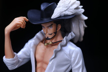 One Piece Doflamingo Mihawk Action Figure 28CM