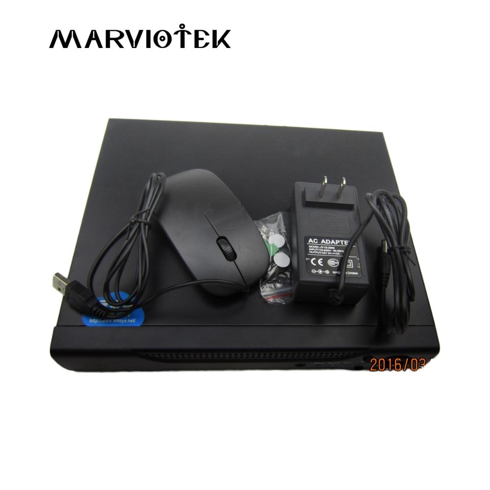 Mini DVR Recorder AHD 8CH CCTV NVR Digital Video Recorder for CCTV 1080P Camera HDMI Video Output Support Analog AHD IP Camera цена
