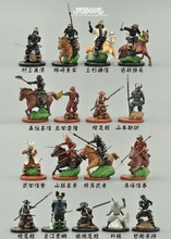 Warring States period of ancient Japanese samurai soldiers were 17 pcs/set out of print  with original base