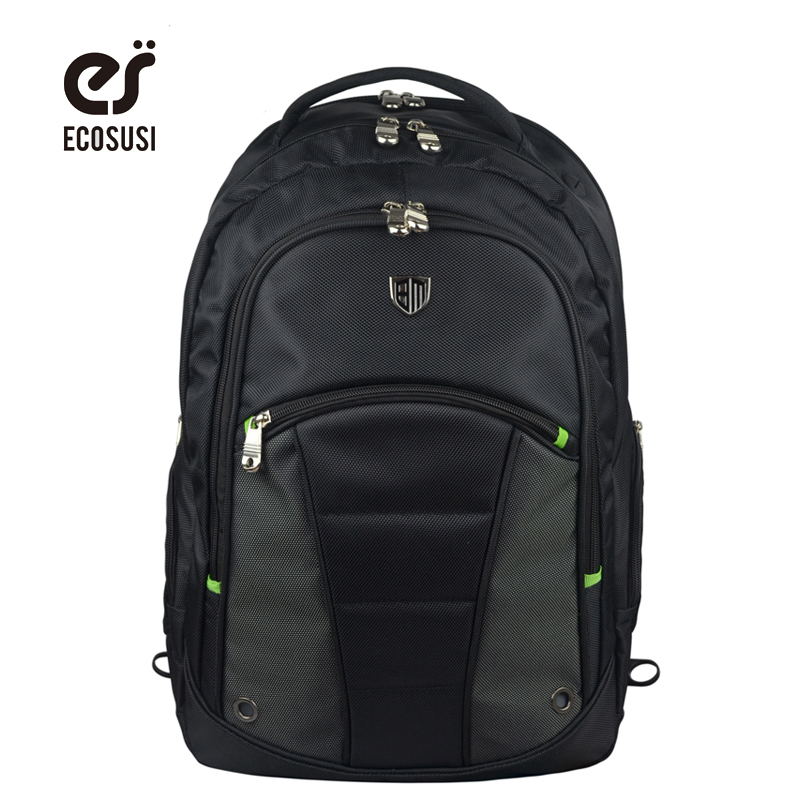 ECOSUSI New Backpack Nylon Travel Backpack High Quality Laptop Backpacks School Backpack Travel Bag Computer Bag