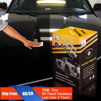 Rising Star RS A CCZ01 Nanotech Crystal Car Coating 50Ml Kit For Professionals Liquid Nano Ceramic