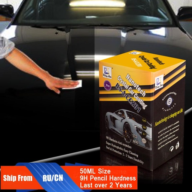 Rising Star RS A CCZ01 Liquid Glass Nano Ceramic Car Care Coating  Hydrophobic Crystal