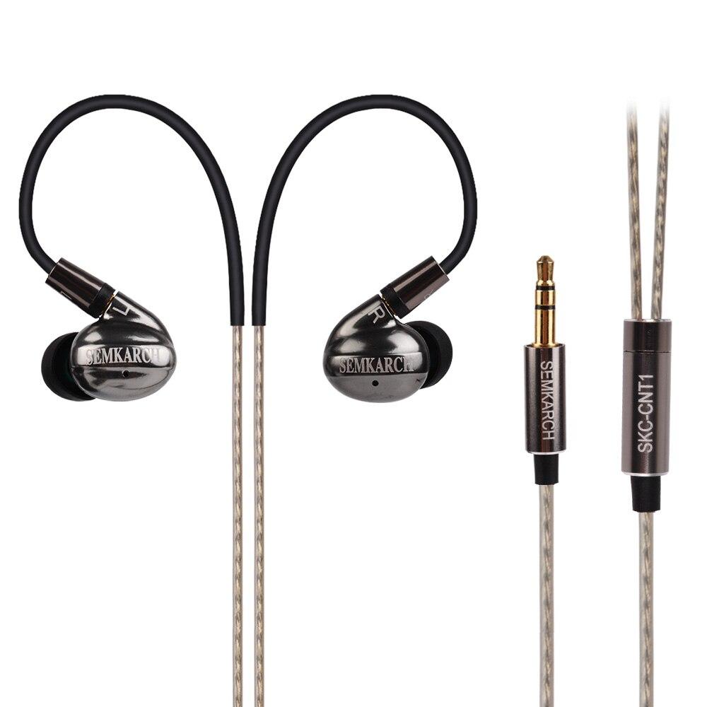 LZ SEMKARCH SKC-CNT1 In Ear Earphone 10mm Carbon Nanotube (CNT) Diaphragm High Dynamic HIFI Earphone Headset With MMCX Cable