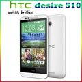 510 Оригинал 100% Разблокирована HTC Desire 510 5MP 2100 мАч 4.7 Дюйм(ов) 8 ГБ ROM Сенсорный экран Восстановленное Мобильного Телефона Бесплатная Доставка