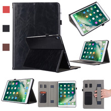 купить For Apple iPad Pro 10.5 inch 2017 Case With Pencil Holder Hand Strap  A1701 A1709 Auto Wake Tablet Cover For Apple iPad Pro 10.5 по цене 1281.78 рублей
