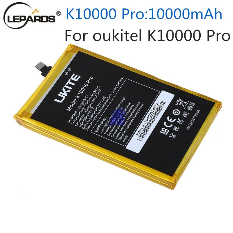 10000mAh K10000pro Battery 100 Original For Oukitel K10000 Pro Battery Spare Battery For Oukitel K10000