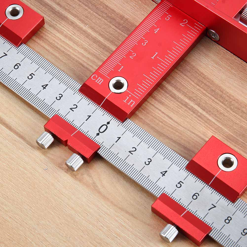 Outil de gabarit de perforation à chaud ensemble d'outils de forage détachable manchon de guidage armoire tiroir outils de forage en bois goujons NDS66