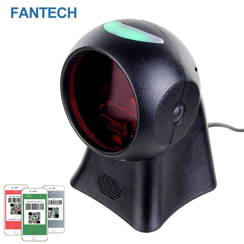 FANTECH  Free Shipping QR BarCode Scanner Platform  Omnidirectional Scanner barcode reader for Supermaket  Cashier  S3NT20 цены онлайн