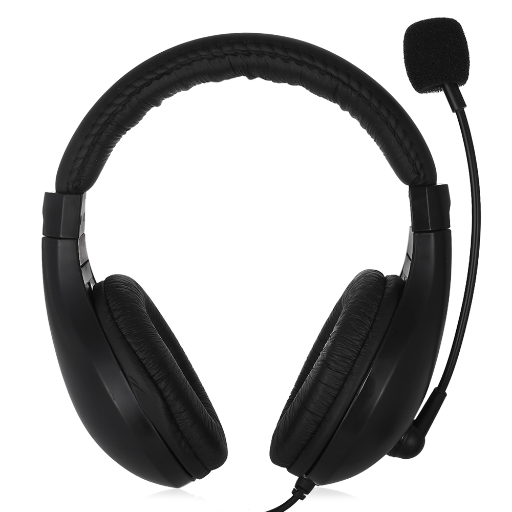 Salar A566N 2in1 Laptop Headphones With Microphone Gamer Headset For Computer PC Phone Xiao Iphone 5s 6 7 Wired Gaming Earphone hands free headphones usb plug monaural headset call center computer customer service headset for pc telephone laptop skype chat