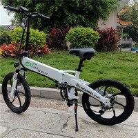 Европейский прямые поставки 20 дюймов складной электровелосипед 10AH 48 V скутер