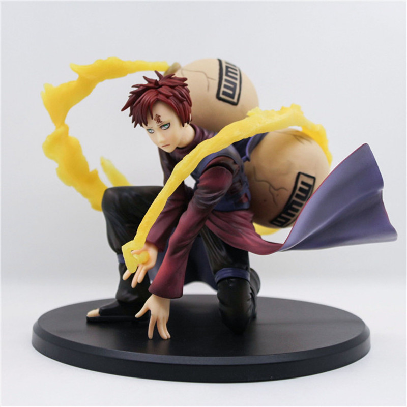 15cm New hot Anime Naruto Gaara PVC Action Figure Collection Model toys for Christmas gift new hot 17cm avengers thor action figure toys collection christmas gift doll with box j h a c g