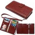 Casos carteira para iphone 7 plus caso com slot para cartão de crédito para iphone 6 & mais saco do telefone tampa do telefone para apple iphone 7 6 s bolsa