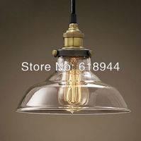 Wholesale Restaurant Dining Room Living Room Lamp Glass Vintage Glass Pendant Lamp Industrial Pendant Lights 110