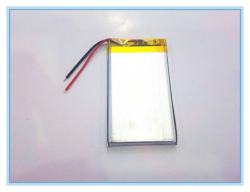 Tasuta kohaletoimetamine 3,7 V liitiumpolümeerpatarei 2200mah 504169 - Tahvelarvutite tarvikud - Foto 2