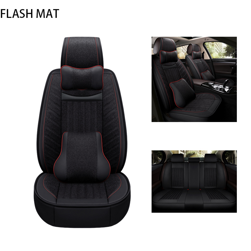 Universal car seat cover pour mercedes w203 bmw e36 e46 f10 audi a3 Jaguar xf Chrysler 300c pour Lexus rx renault logan Volvo v50
