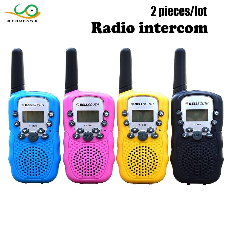 MYHOESWD Interphone pour enfant enfants semblant jouer policiers talkie-walkie jouet en plein air pour enfants Radio appel téléphone jouet garçons