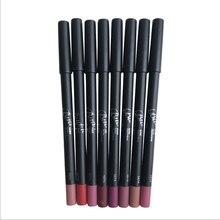 Matte Liquid Lipstick lips pencil makeup Lasting Waterproof  Easy to Wear Mate lip gloss rouge  lip Kit 2pcs/1set