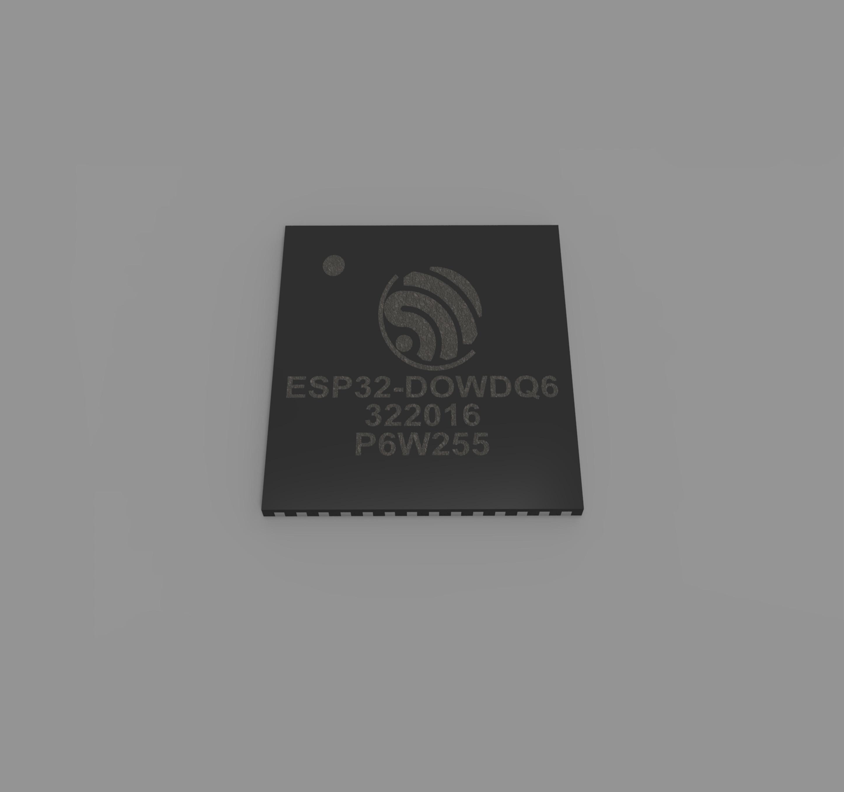ESP32-D0WDQ6, 6*6, WiFi&amp, Bluetooth Two in One Chip nichijou 6