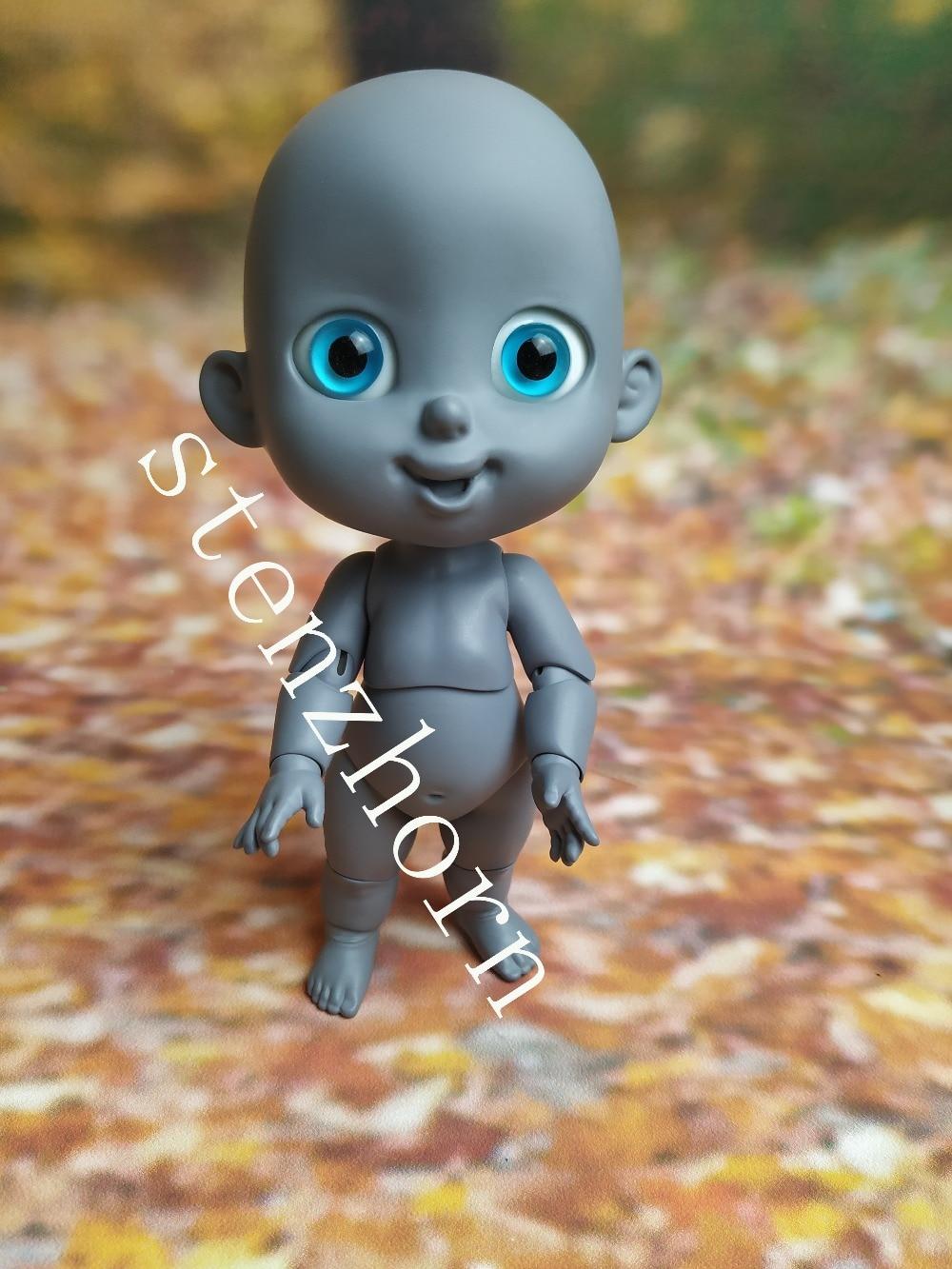 Bjd doll1 8 bean bag cute baby doLL toy fashion bjd free eyes