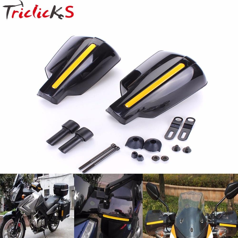 "Fat Bar Hand Guards 22mm 7//8/"" Fat Tapered Bars Motocross Bike Enduro Handguards"