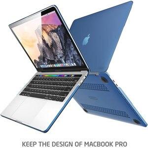Image 3 - Dành Cho MacBook Pro 15 Ốp Lưng Với Thanh Cảm Ứng/Touch ID (2019 2018 2017 2016) a1990/A1707 Tôi Blason Slim Frost Cứng + Nhựa TPU