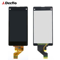 For Sony Xperia Z1 Mini Compact D5503 M51W LCD Display Touch Screen Without Frame Digitizer Assembly Original Black or White