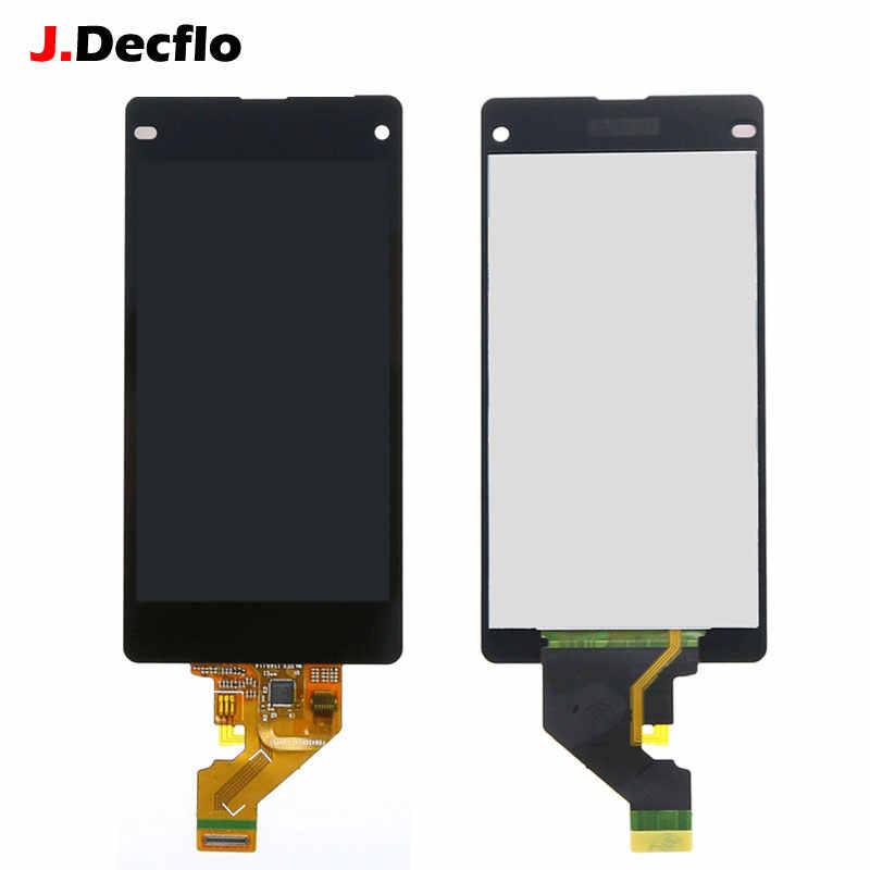 Pour Sony Xperia Z1 Mini Compact D5503 M51W écran tactile LCD sans cadre numériseur assemblage Original noir ou blanc