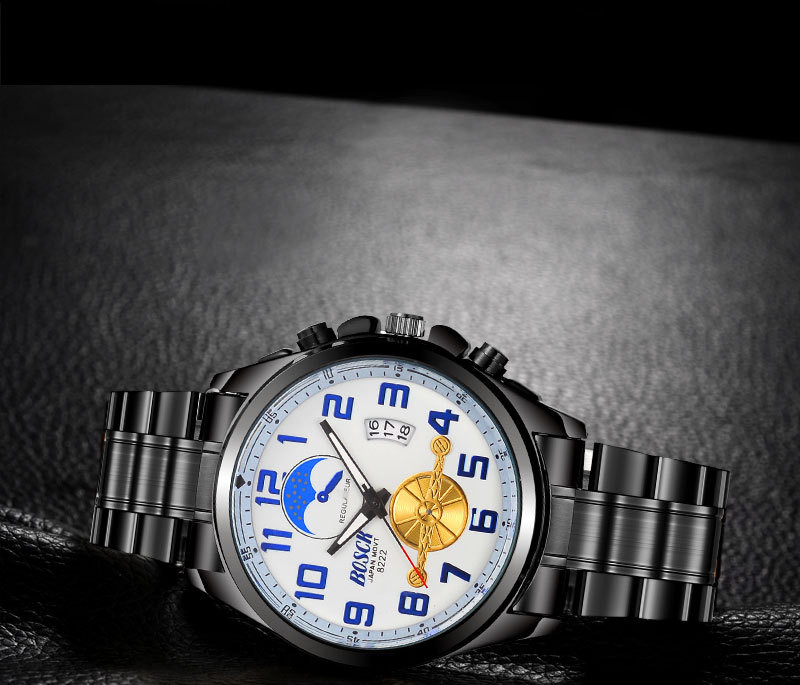 Mens steel belt watch simple and casual quartz watch, the latest model, worth having...Mens steel belt watch simple and casual quartz watch, the latest model, worth having...