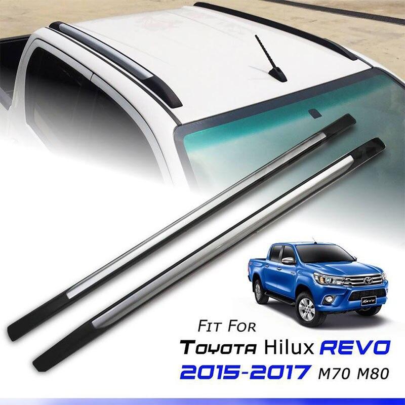 ROLL BAR ROOF BAR RACK FIT FOR HILUX REVO SR5 M70 M80 2015 2016 2017